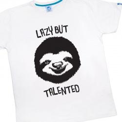 Koszulka Męska Lazy but Talented