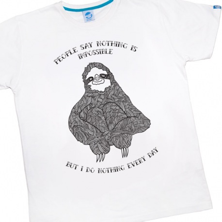 Uni-sex T-shirt Nothing is Impossible